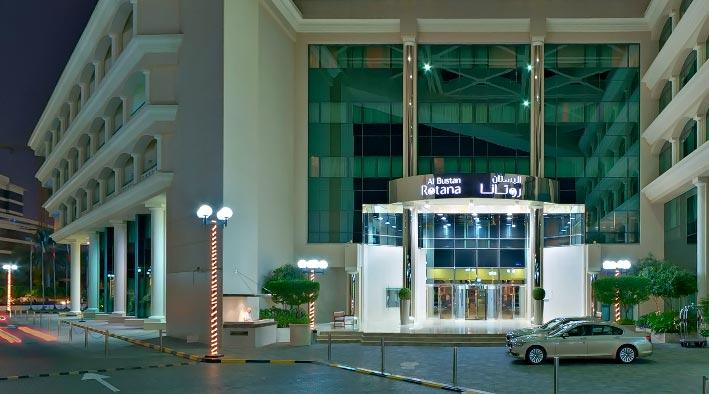 360 virtual tour inDubai at Al Bustan Rotana Hotel