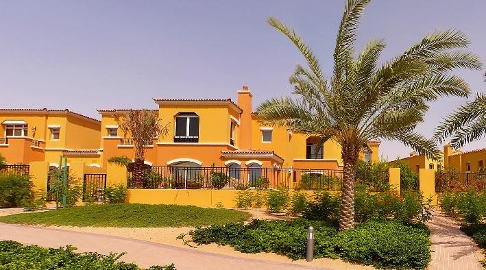 360 panorama photo inDubai at The Arabian Ranches