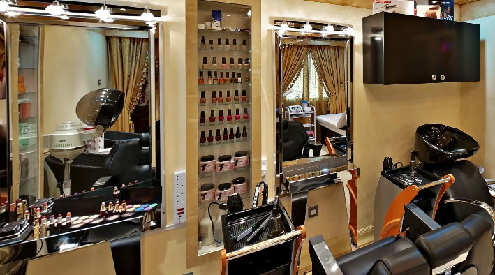 360 panorama photo in Dubai at Beauty Salon - St. George Hotel