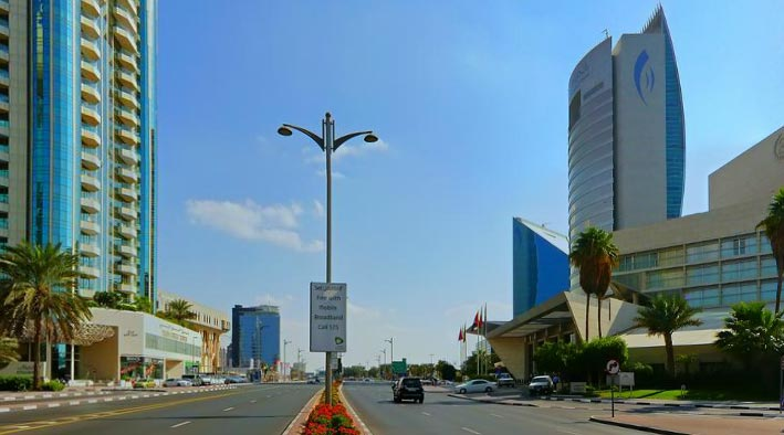 360 panorama photo in Dubai at Benyas Road - Deira