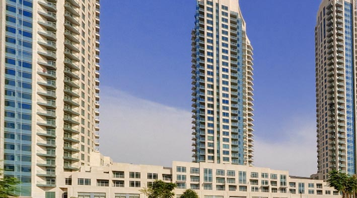 360 panorama photo inDubai at Burj View