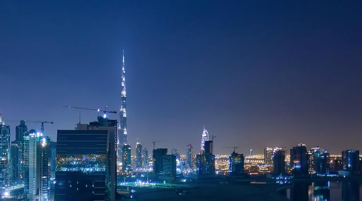360 virtual tour in Dubai at Churchill Towers - Balcony View 1