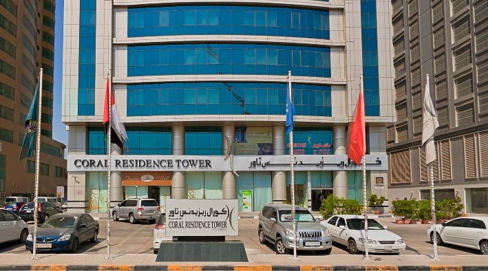 360 virtual tour in Fujairah at Coral Residence Tower