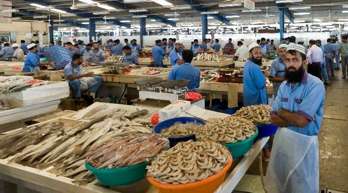 360 panorama photo inDubai at The Fishmarket