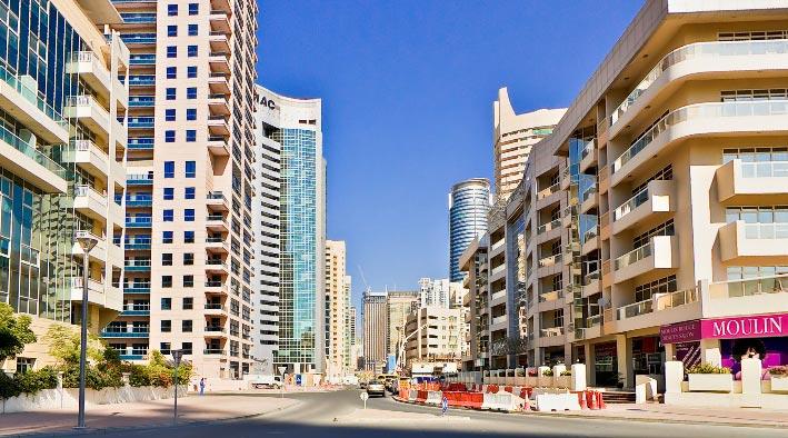 360 panorama photo inDubai at Dubai Marina Tulip Residence