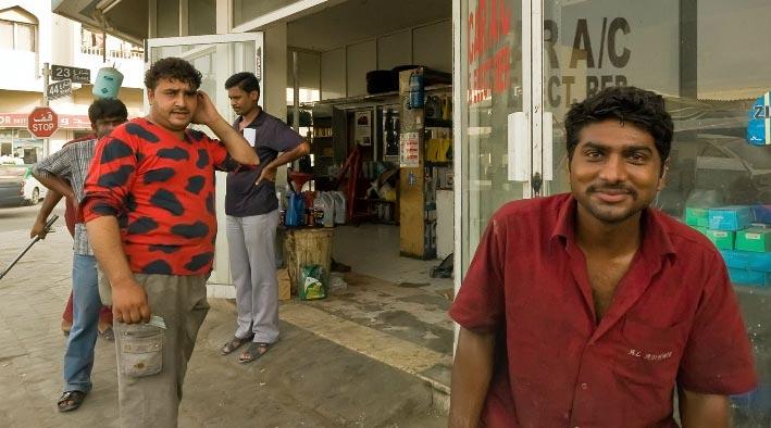 360 panorama photo inSharjah at A Car Repair Shop