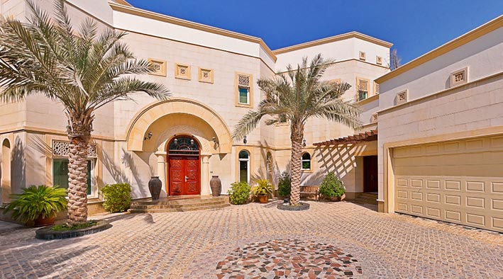 360 virtual tour in Dubai at Emirates Hills Villa