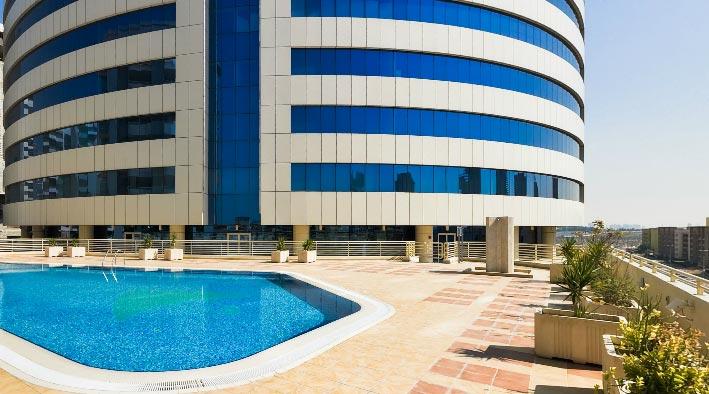 360 panorama photo inDubai at Executive Heights - TECOM