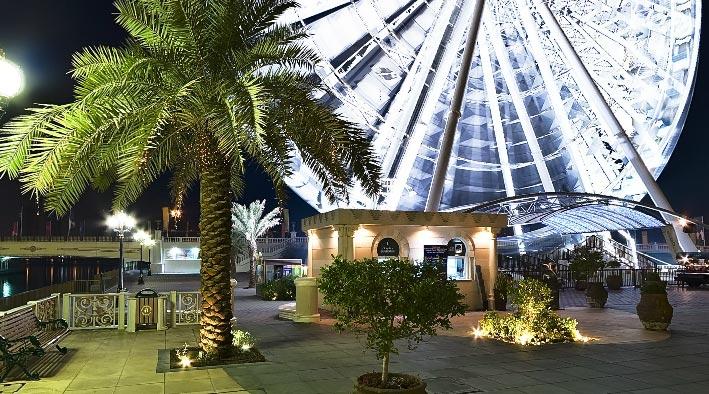360 panorama photo inSharjah at The Eye of The Emirates