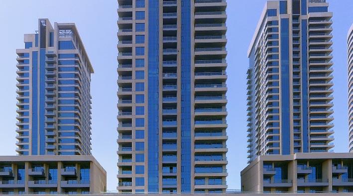 360 panorama photo inDubai at Fairways Towers