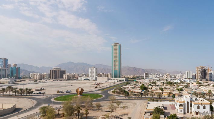360 panorama photo inFujairah at Fujairah - 1.33 GIGAPIXEL