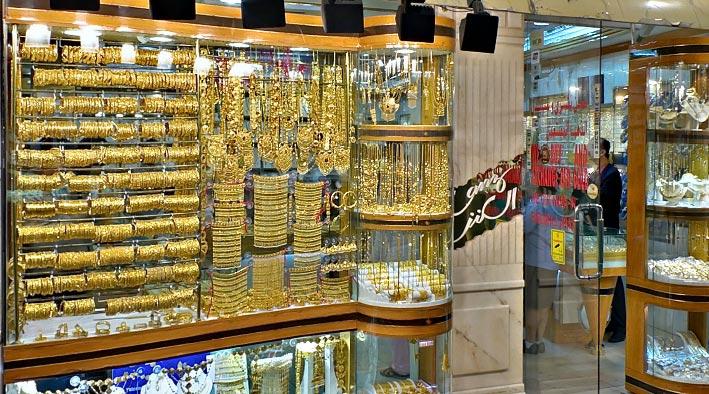 360 panorama photo inDubai at Gold Souk Night