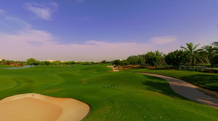 360 panorama photo in Dubai at Emirates Hills