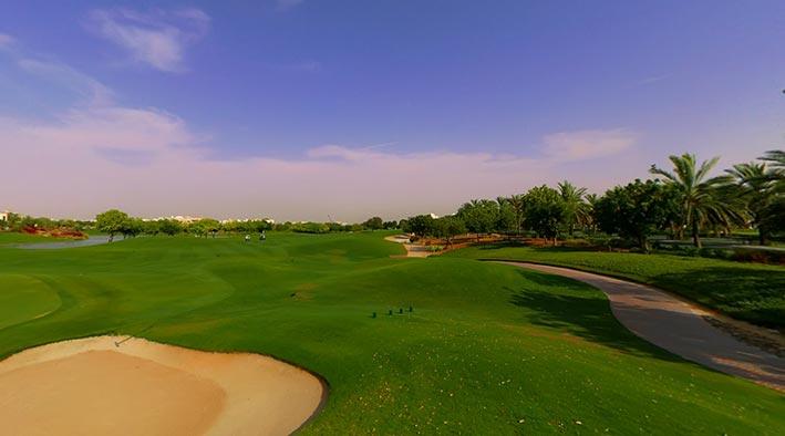 360 panorama photo inDubai at Emirates Hills
