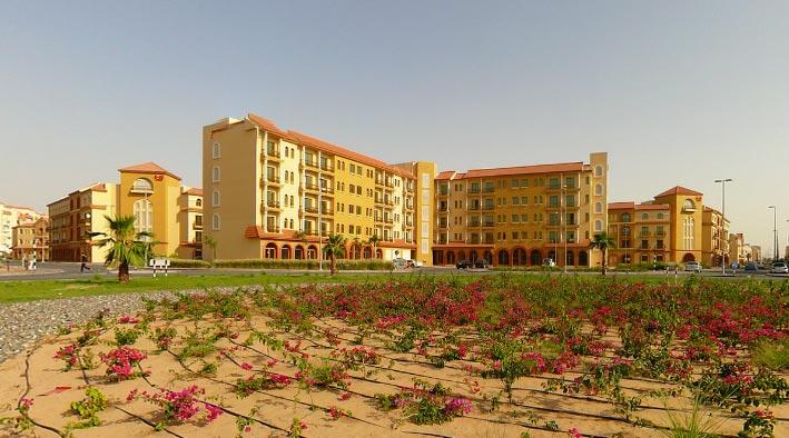 360 panorama photo inDubai at International City