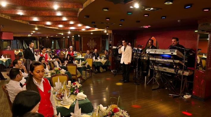 360 panorama photo inDubai at Irani Night Club - St. George Hotel