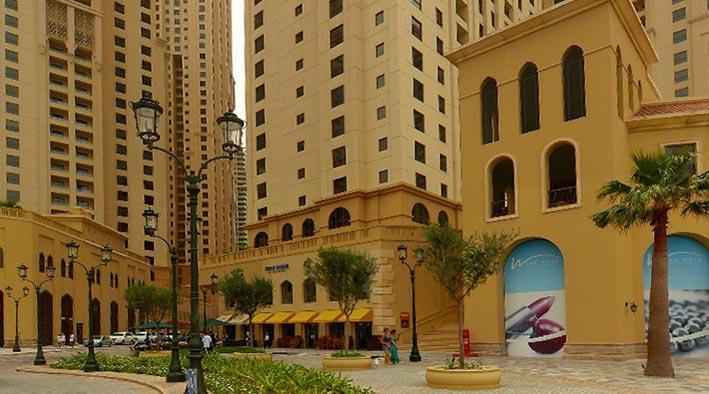360 panorama photo inDubai at Jumeirah Beach Residence