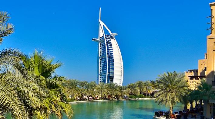 360 panorama photo inDubai at Jumeirah Madinat - Burj Al Arab