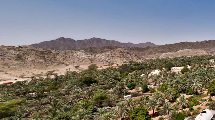 360 virtual tour in Masafi at Al Hajar Mountains