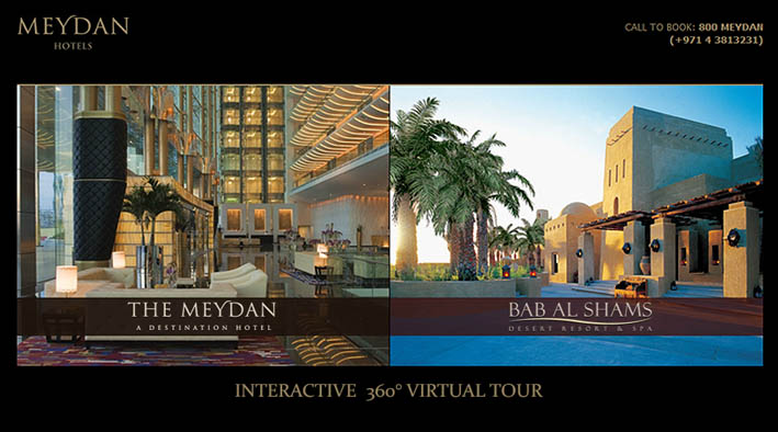 The Meydan Hotel and Bab Al Shams Desert Resort Virtual Tour