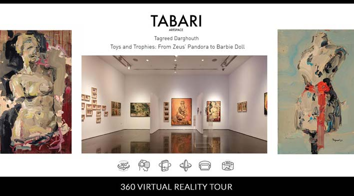 Toys and Trophies: From Zeus' Pandora to Barbie Doll Tagreed Darghouth Solo Virtual Tour
