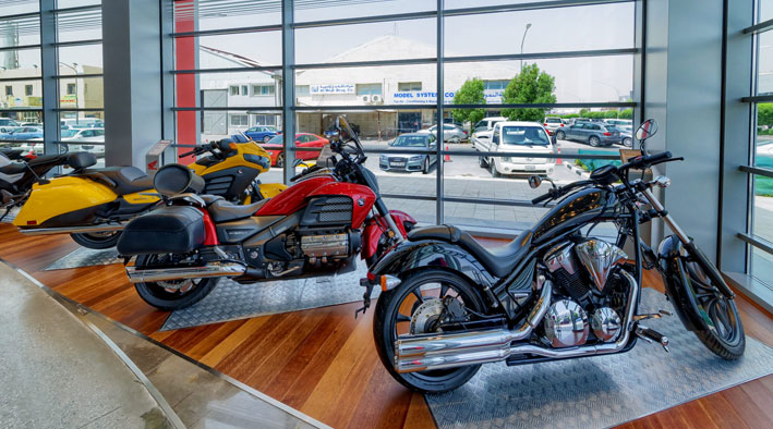 Honda Motor Cycles an Power Product Showroom 360 Virtual Reality Tour